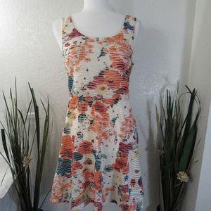 Three Pink Hearts Trixxi Floral Stretch Dress Line